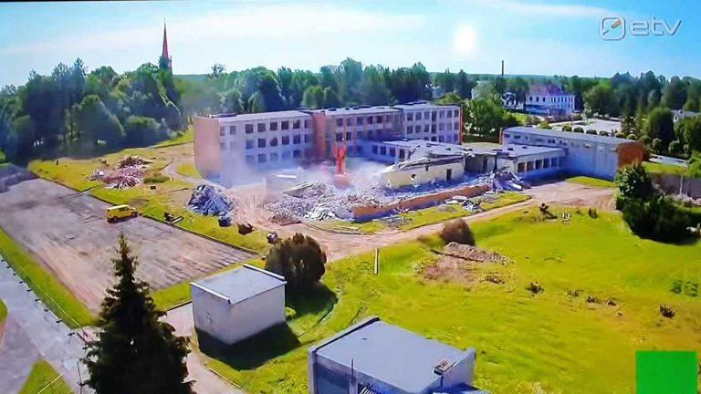 Türi Põhikooli lammutamine